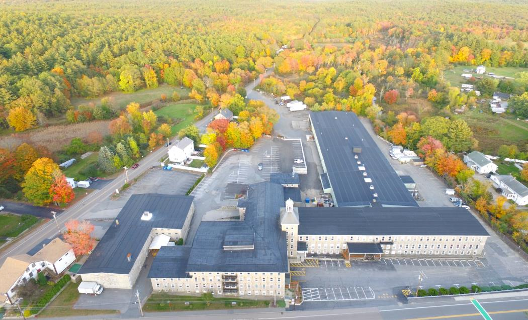 Manchaug Mills Aerial Photo